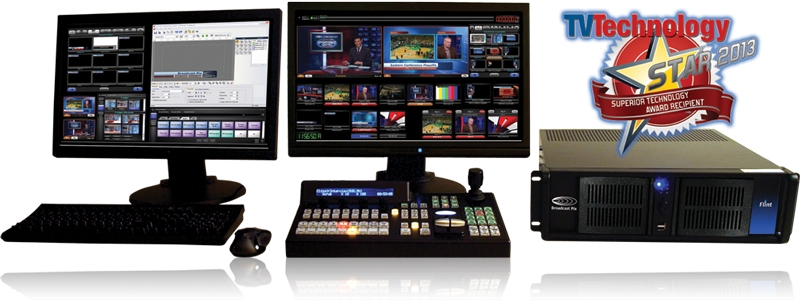 Broadcast Pix Flint - Pofessional Live Production and Streaming System