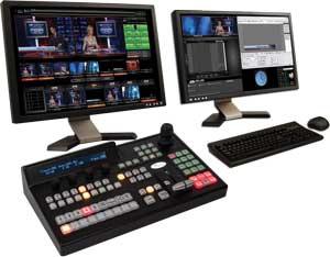 ПТС на базе студии Broadcast Pix Slate 100