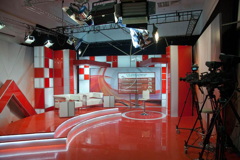 Аренда телевизионной студии Арвекс ДВ