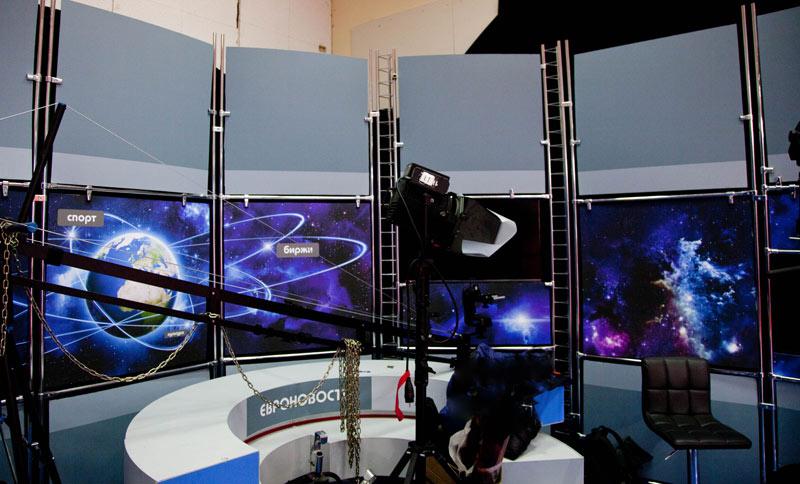 Многокамерная съёмка телепрограмм, запись диктора.
