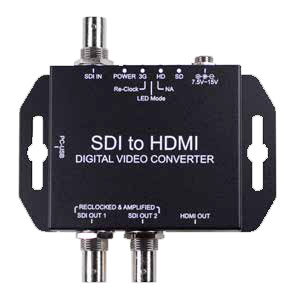 SDI to HDM converter