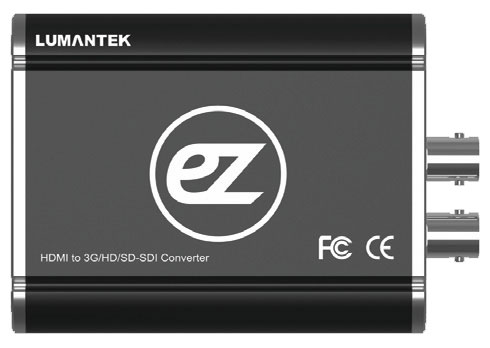 Lumantec ez-hs HDMI to 3G/HD/SD-SDI конвертер