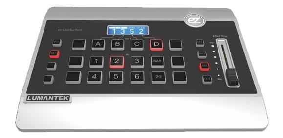 Control Console ez-LiveSurface