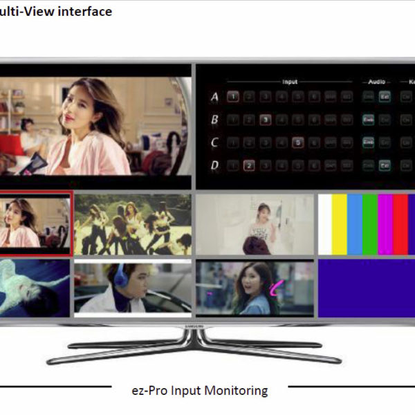 ez-PRO multiview interface