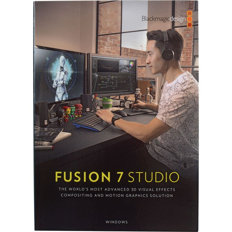 Blackmagic Fusion Studio Software EDU 5-24, DV/STUFUS/5-24