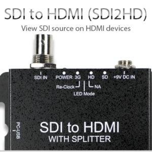 SDI в HDMI, DVI